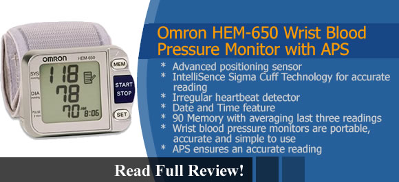 Omron HEM-650 Reviews