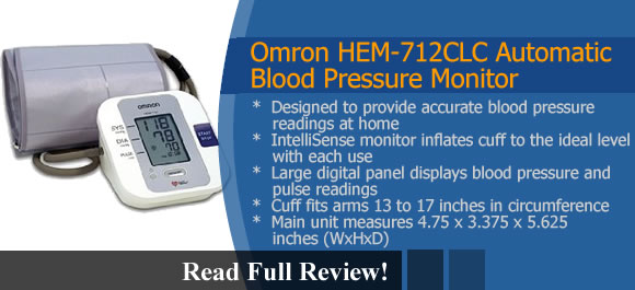 Omron HEM-712CLC Reviews