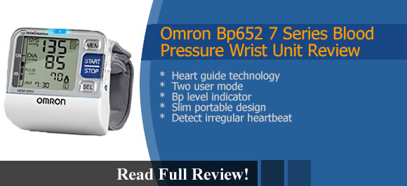 Omron Bp652 Blood Pressure Wrist Unit Reviews