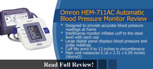 Omron HEM-711AC Reviews